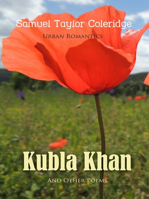 cover image of Kubla Khan and Other Poems